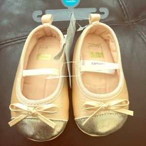 Carter's- baby girl shoes